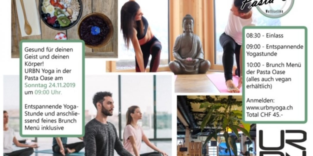 Urbn yoga, yoga, Brunch,