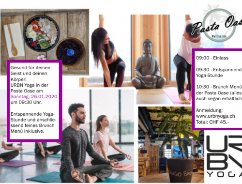 URBN Yoga, Brunch